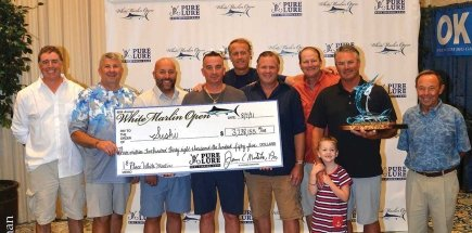First Place White Marlin Open